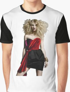 Punk Rock Taylor Swift Graphic T-Shirt