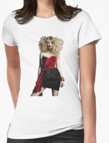 Punk Rock Taylor Swift Womens Fitted T-Shirt
