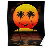 Sweet Smile of Sunset Poster