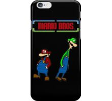 Mario Bros iPhone Case/Skin