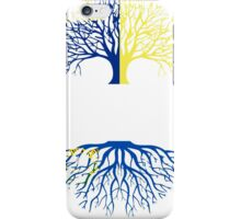 OREGON GROWN WITH NEVADA ROOTS iPhone Case/Skin