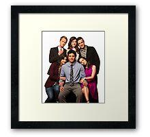How I Met Your Mother - Final Cast Framed Print