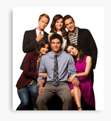 How I Met Your Mother - Final Cast Canvas Print