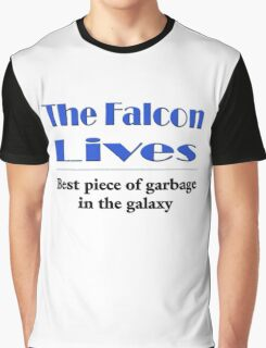 The Falcon Lives Graphic T-Shirt