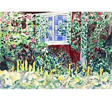 Idyllic Swedish Garden Impression Photographic Print
