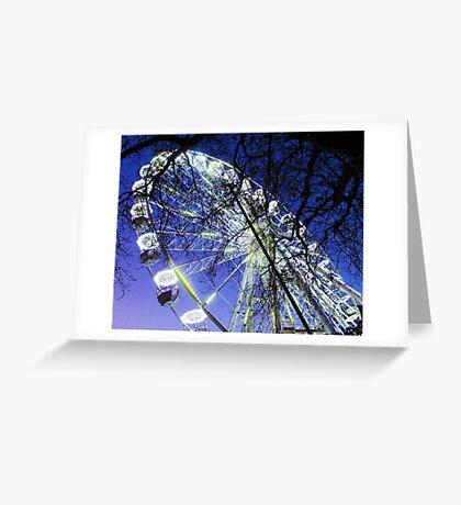 The Birmingham wheel - England (Two) Greeting Card