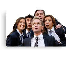 How I Met Your Mother - Musical Canvas Print