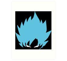Goku super saiyan god  Art Print