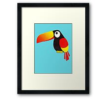 toucan first example Framed Print