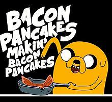 Jake Makin Bacon Pancake by Kutai-Kingdoom