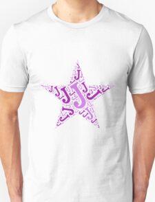 Word Art J T-Shirt
