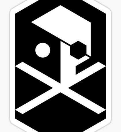 CROSSBONES Sticker