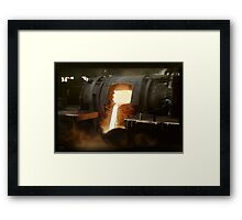 [Untitled] (Steel mill), ca. 1940 Framed Print