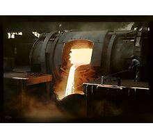 [Untitled] (Steel mill), ca. 1940 Photographic Print