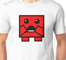 SUPER SCARED MEAT BOY Unisex T-Shirt