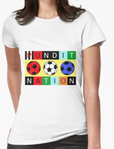 Pundit Nation Womens Fitted T-Shirt