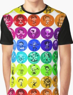 Sengoku BASARA - 30 Hues Graphic T-Shirt