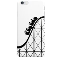RCT Roller Coaster Tycoon silhouette iPhone Case/Skin