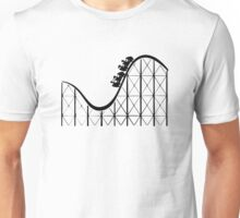 RCT Roller Coaster Tycoon silhouette Unisex T-Shirt