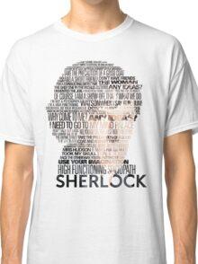 Sherlock Quotes Classic T-Shirt