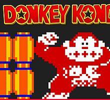 Donkey Kong by Tiltedgiraffes