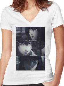 death note Women's Fitted V-Neck T-Shirt