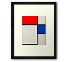 piet-mondrian-dutch--title-composition-no-ii.  Framed Print