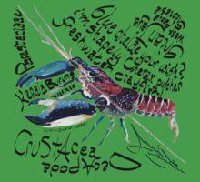 Cherax pulcher, freshwater crayfish Kids Tee