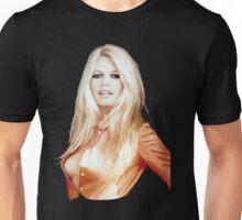 Orange Bardot Unisex T-Shirt
