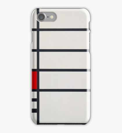 Piet Mondrian, Dutch, Title Trafalgar Square. iPhone Case/Skin