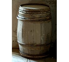 The Old Barrel Sentinel Photographic Print