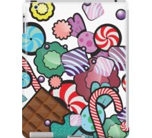 Jar with sweet candies iPad Case/Skin
