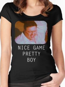 Nice Game Pretty Boy Women's Fitted Scoop T-Shirt