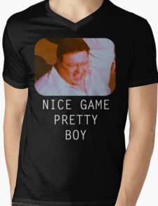Nice Game Pretty Boy Mens V-Neck T-Shirt