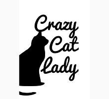 Crazy Cat Lady, Crazy Cat Lady Silhouette  Unisex T-Shirt