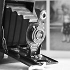 Vintage ...Autographic Brownie in monochrome  by LynnEngland