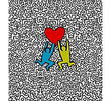 HARING - Select Your Fav Colour Photographic Print