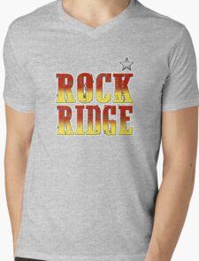 ROCK RIDGE - BLAZING SADDLES Mens V-Neck T-Shirt