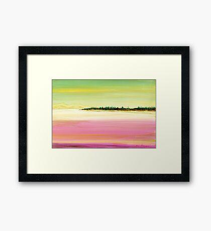Peaceful Peninsula Framed Print