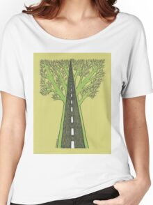 Road and Forest Women's Relaxed Fit T-Shirt
