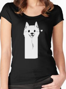 Undertale Dog Women's Fitted Scoop T-Shirt