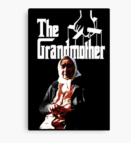 The Godfather Parody  Canvas Print