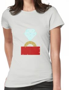 Will You Marry Me Womens Fitted T-Shirt