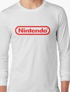 Nintendo logo HQ Long Sleeve T-Shirt