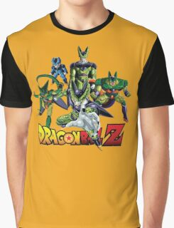Dragon Ball Z All Star - Cell Evolution Graphic T-Shirt