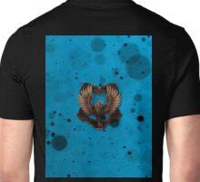 Blue Ink Blots Unisex T-Shirt