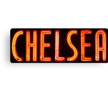Neon Sign - Chelsea Canvas Print