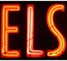 Neon Sign - Chelsea Sticker