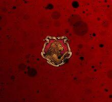 Red Ink Blots by Serdd