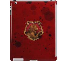 Red Ink Blots iPad Case/Skin
